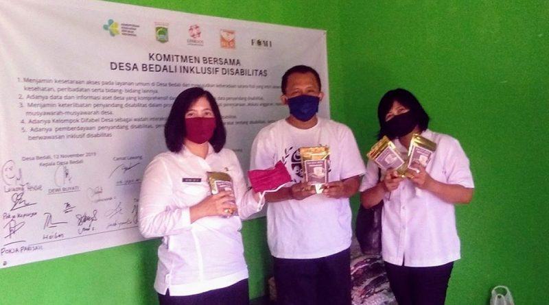 Atasi Pandemi Covid-19 Dinsos Malang Gandeng Linksos Produksi Masker