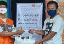 Hadapi Pandemi, CSF Salurkan Paket Sembako ke Omah Difabel