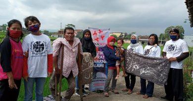 Pers Rilis: Sambut New Normal Omah Difabel Luncurkan Produk Batik Ciprat dengan Pewarna Alami