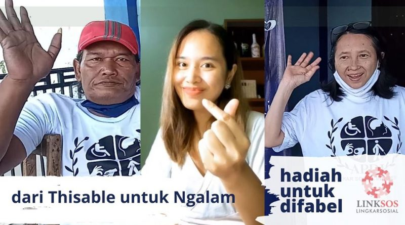 Bansos Covid-19 dari Thisable untuk Difabel Non Komunitas di Malang
