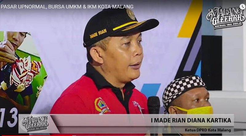 Ketua DPRD Kota Malang di Pasar Upnormal: Harus Ramah Difabel