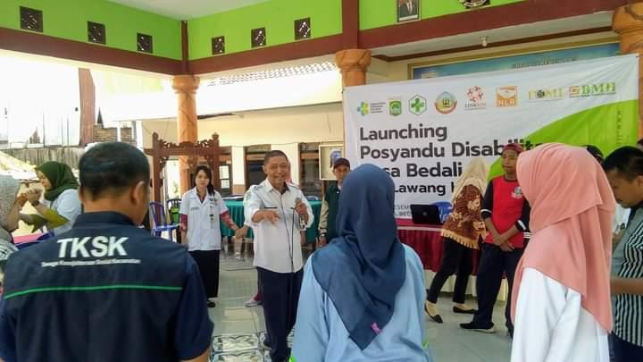 Posyandu Disabilitas Inisiatif Lokal di Bidang Kesehatan Masyarakat