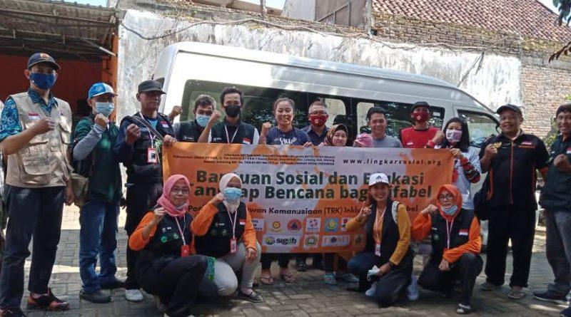 LINKSOS Inisiasi Edukasi Tanggap Bencana bagi Difabel di Malang